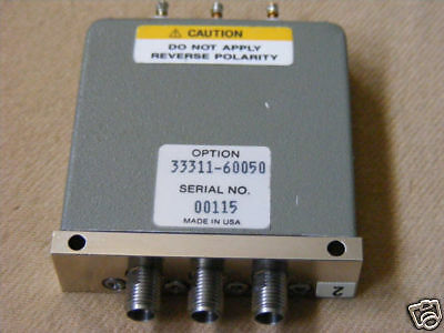 hp AGILENT 33311C COAXIAL SWITCH 26.5GHz 33311-60050 #2