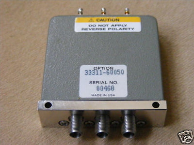 hp AGILENT 33311C COAXIAL SWITCH 26.5GHz 33311-60050 #3