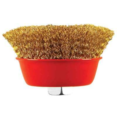 "100Mm 4"" Diameter X M14 Thread Crimped Wire Cup Brush"