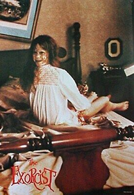 THE EXORCIST MOVIE POSTER Famous Twisted Legs Scene NEW