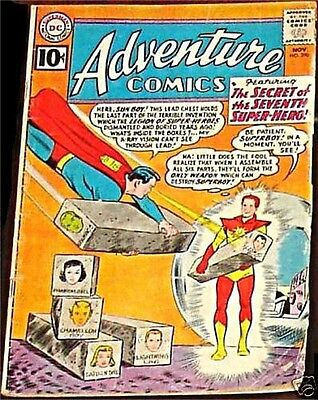 ADVENTURE COMICS 290 VG+ SUPERMAN RARE 1938 SERIES 10c