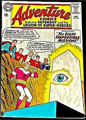 Adventure Comics 323 F/f- Superman Rare 1938 Series