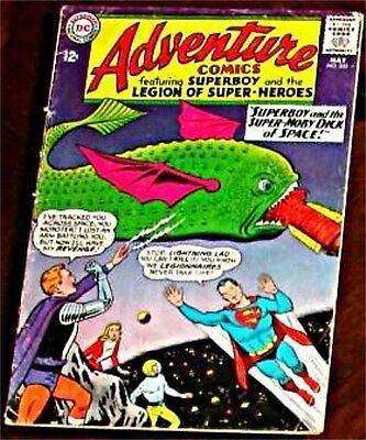 Adventure Comics 332 Vg Superman Rare 1938 Series