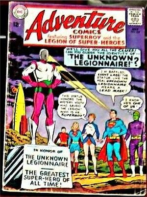 Adventure Comics 334 Vg/vg+ Superman Rare 1938 Series