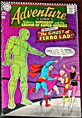 Adventure Comics 357 F+ Superman Rare 1938 Series