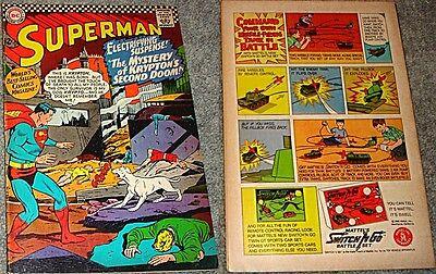 SUPERMAN 189 VF- 1939 1st DC SERIES RARE 1966 ISSUE