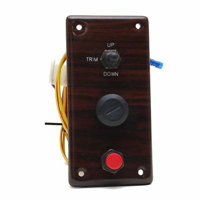Premier 17217A Cherrywood Boat Trim/ign Switch Panel