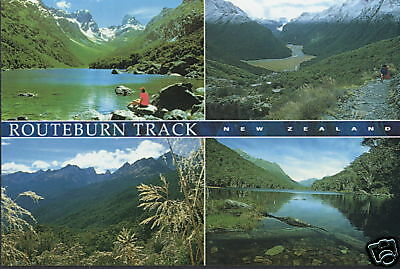 Postcard: 4 x The Routeburn Track, New Zealand