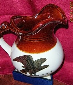 "McCoy ""EAGLE AND STARS"" PITCHER - GREAT CONDITION!"