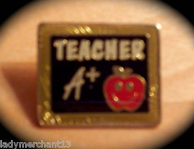 """TEACHER A+"" Lapel Pins, Wholesale Lot of 25, NEW!"