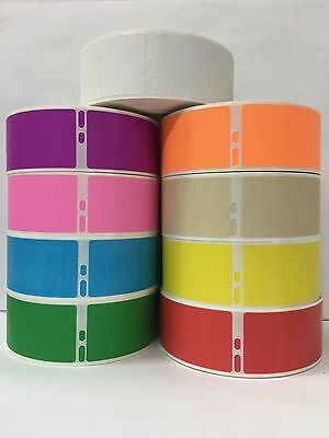Labels and More Dymo Compatible 30252, RED, 1-1/8x3-1/2, 350/Roll 2 Rolls