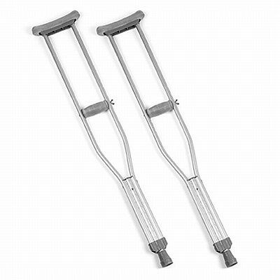 Invacare Adult Quick Change Crutch Crutches One Pair
