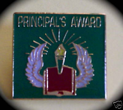 "'PRINCIPAL'S AWARD"" Lapel Pins/Lot of 25/NEW IN BAGS"