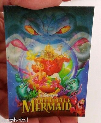 Disney Store The Little Mermaid Movie Release Lenticular Flasher Trading Card