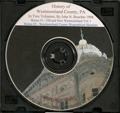 Westmoreland County PA History Vol 1&2 - Genealogy