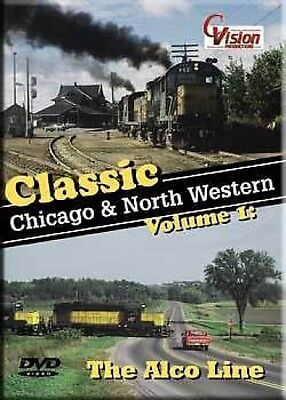 Classic Chicago & North Western V1 Alco Line DVD NEW