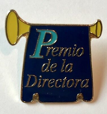"""Premio de la Directora"" The Director Award Pins/25/NEW"