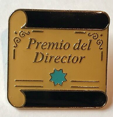 """Premio del Director"" Director Award Lapel Pins/25/NEW"