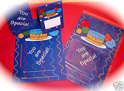 """Happy Birthday"" Magnetic Book Marks on Card/44/ALL NEW"