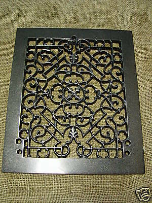 Vintage 1800s Cast Iron Register Grate Antique Grates