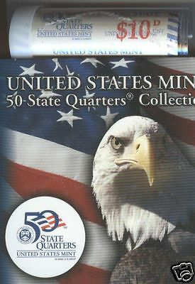 2001-D Rhode Island State Quarter Roll Special Issue