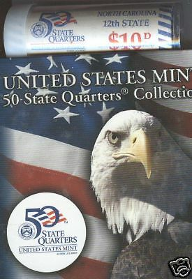 2001-D North Carolina State Quarter Roll Special Issue
