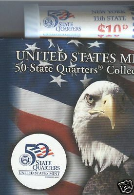2001-D New York State Quarter Roll Special Issue