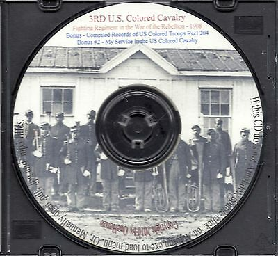 3rd US Colored Cavalry  - Civil War History