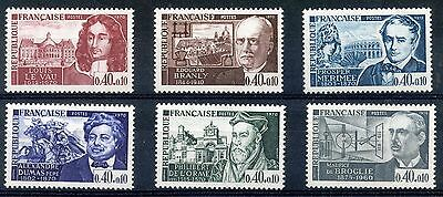 stamp / TIMBRE FRANCE NEUF luxe SERIE N° 1623/1628 ** CELEBRITE