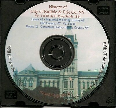 Erie County & Buffalo NY History - Vol 1&2 1,800+ pages