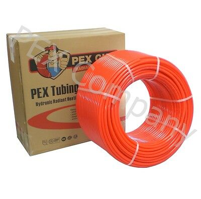 "1/2 "" x 600 ft PEX Tubing Oxygen Barrier EVOH Radiant Heating NSF Certified"