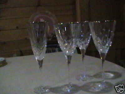 3 d'Arques Crystal Cassandra Wine Goblets
