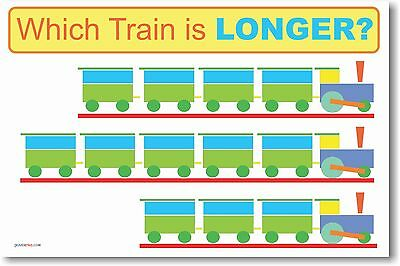 Which is Longer?  - Math POSTER