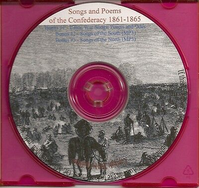 Songs and Poems of the Confederacy - Civil War History