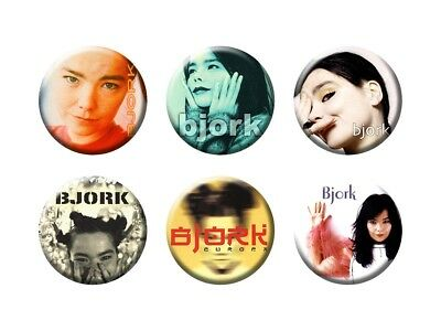 BJORK 6 new Buttons/Magnets