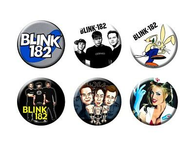 BLINK 182 6 new Buttons/Magnets