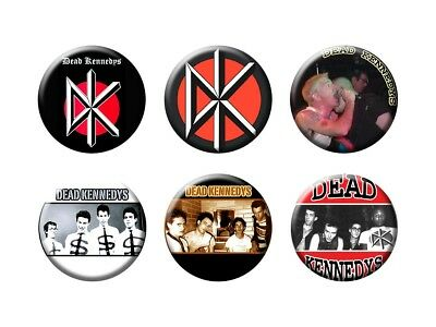 DEAD KENNEDYS 6 new Buttons/Magnets