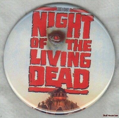 NIGHT OF THE LIVING DEAD Zombie 3 inch magnet