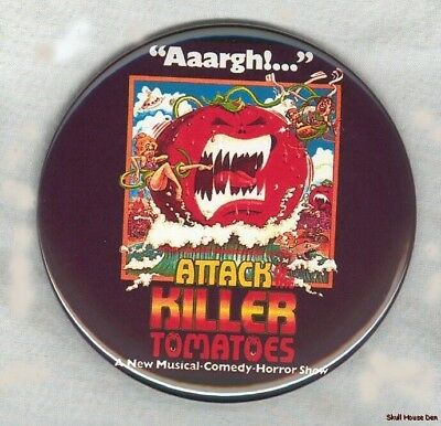 ATTACK OF THE KILLER TOMATOES 3 inch magnet