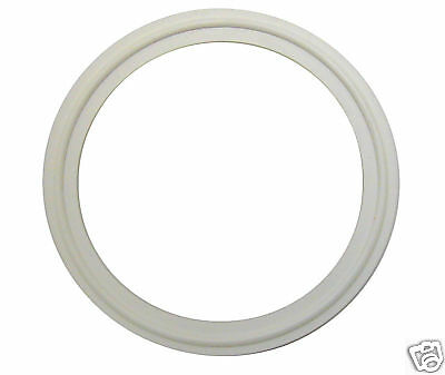 "White Buna Tri Clamp Sanitary Gaskets 4""  Lot Of 3"