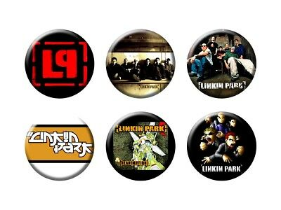 LINKIN PARK 6 new Buttons/Magnets