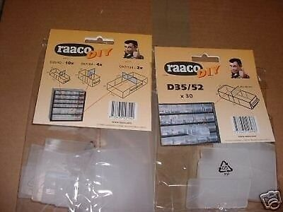 RAACO CABINET DRAW DIVIDERS FOR SOME CABINETS Please state WHICH pack 15/30