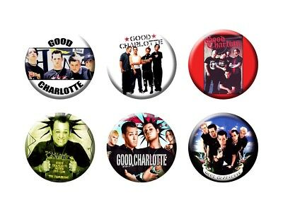 GOOD CHARLOTTE 6 new Buttons/Magnets