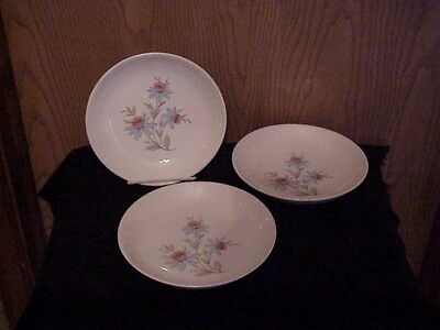 STEUBENVILLE CHINA 3 COUPE CEREAL BOWLS FAIRLANE USA