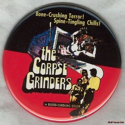 CORPSE GRINDERS 3 inch horror movie magnet