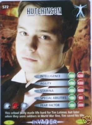 Dr Who Invader Card 572 Hutchinson  - Mint !!