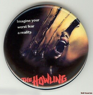 THE HOWLING 3 inch werewolf magnet
