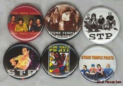 STONE TEMPLE PILOTS 6 New Buttons/Magnets