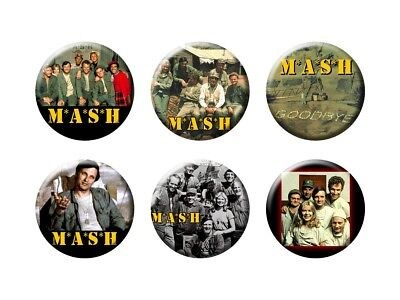MASH  6 New Buttons/Magnets