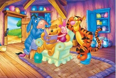 WINNIE THE POOH POSTER House Gathering RARE NEW